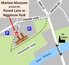 Marlow Museum location