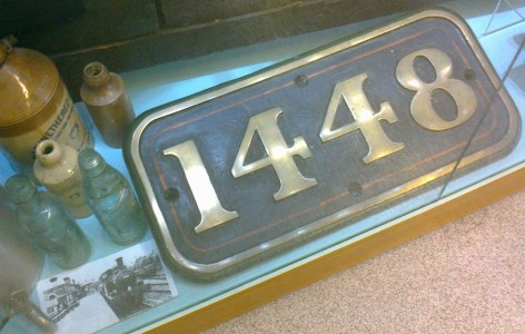 Cabside plate GWR 1448